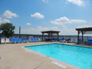 heated pool St. Croix River Minnesota
