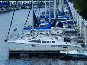 Sailboat St. Croix River MN
