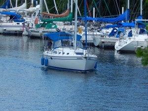 Sailboat Slip for Lease St. Croix River