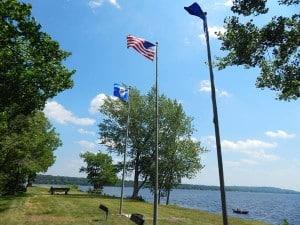 Flag St. Croix River Bayport MN