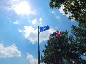 Flag Summer St. Croix River