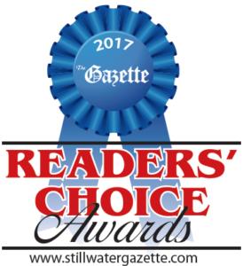 Stillwater Gazette Reader's Choice Award